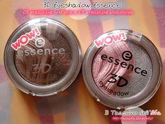 Il Taccuino dellElfa: 3D Eyeshadow 03 irresistible first love e 09 irresistible chocolates Essence