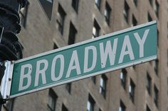 Perform as a lead in a show on Broadway.