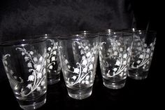 Lily of the Valley - Libbey Glass