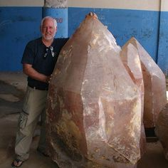 Large Quartz Crystal from Brazil | #Geology #GeologyPage #Mineral Geology Page www.geologypage.com