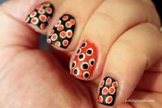 Since Polka dot Pattern are extremely cute & trendy, here are some Polka dot Nail designs for the season. Get the best Polka dot nail art,tips & ideas here. Black Dot Nails, Blue And White Nails, White Glitter Nails, Black Nail Art, Polka Dot Nails, Striped Nails, Yellow Nails, Gold Nails, Polka Dots