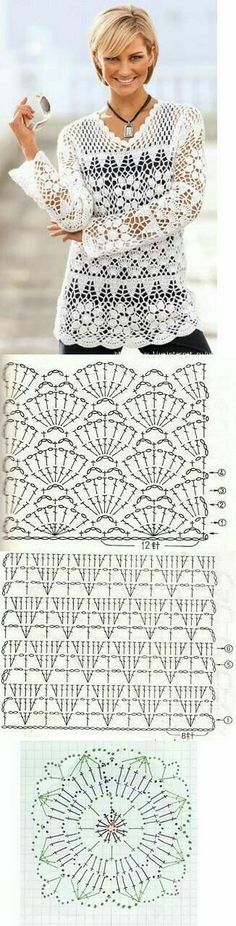 free charts for making it by experienced crocheter