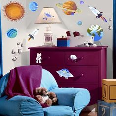 Studio Designs Outer Space Wall Decal Wayfair, $20