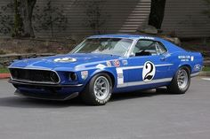 1969 - Ford's answer to the Z-28 was the new '69 Boss 302, and Ford financed two teams for 1969–Carroll Shelby's with drivers Peter Revson, Horst Kwech, Sam Posey, and Dan Gurney and Bud Moore's with drivers Parnelli Jones and George Follmer. Kar Kraft built three cars for the 1969 season; this car chassis 9F02R-112073 was the prototype, test car and Ford media car.