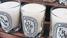 Diptyque candles for home decor. Diptyque Candles, Scented Candles, Humble Abode, Holiday Travel, Home Accessories, Inspiration, My Favorite Things, Home Decor, Happy Things