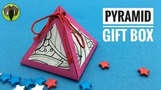 Pyramid Gift Box - DIY   How to make   Tutorial by Paper Folds - 795
