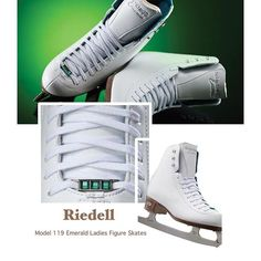 https://figureskatingstore.com/skates/riedell-skates/ 119 Emerald – Gem Series Get ready for fun with the 119 Emerald. Light support with double synthetic reinforcement. #figureskating #figureskatingstore #figureskates #skating #skater #figureskater #iceskating #iceskater #icedance #ice #riedell #riedellskates #iceskates #skates