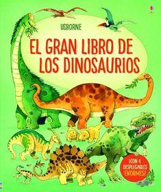 Desde o impoñente  Braquiosaurio ata o feroz  Tiranosaurio, os nenos adorarán as incribles ilustracións e os textos simples deste libro co que descubrirán os dinosauros máis grandes que xamais pisaron a Terra, así como algúns dos máis pequenos. A partir de 4 anos Inclúe enorme páxinas despregables para admirar en todo o seu esplendor algunhas das criaturas máis colosais e aterradoras da historia.