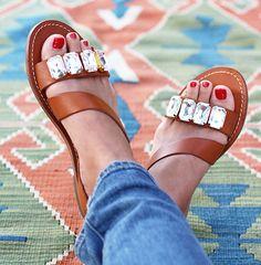 Sandalias DIY, muchas opciones