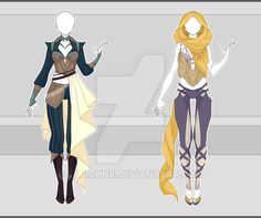[OPEN] Outfit Adopt 21/16 - Auction by larighne.deviantart.com on @DeviantArt