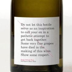 Best label ever