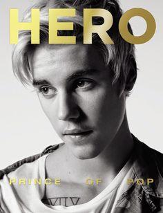 Justin Bieber en portada de HERO Magazine #13   Male Fashion Trends