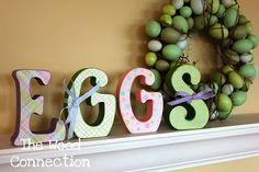 Eggs Letter Set