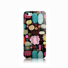 Funky Flowers Black iPhone iPhone 4 case iPhone 5 by VDirectCases Iphone 5c Cases, Diy Phone Case, Cell Phone Cases, Iphone 4, Lg G3, Mobile Cases, Creative Products, Galaxy S3, 6 Case