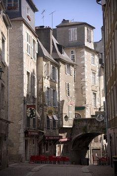 Rue du Moulin, quartier du château, Pau, Pyrénées-Atlantiques, Aquitaine-Limousin-Poitou-Charentes, France
