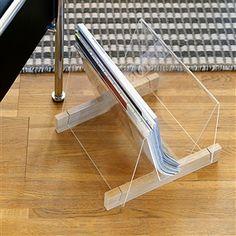 Build a Magazine rack of plexiglass