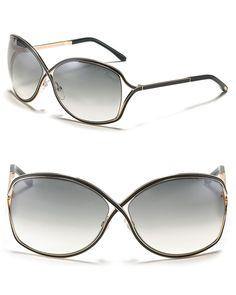 Tom Ford Rickie Cross Sunglasses | Bloomingdale's