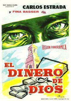 El Dinero de Dios (1959) Latino Comic Books, Comics, Cover, Movie Posters, Vintage Posters, Money, Dios, Film Poster, Cartoons