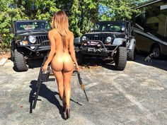 Pictures of hot chicks in Jeeps. Because your vehicle and your woman should be topless! If you are the owner and would like them taken down please let me know. Pinup, Armada, Bikini, N Girls, Us Cars, Jeep Life, Jeep Wrangler, Jeep Cj7, Automobile