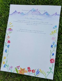 Custom Quaker Marriage Certificate with by DancingPenandPress