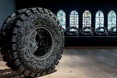 museum tinguely hosts monumental retrospective of wim delvoye's work
