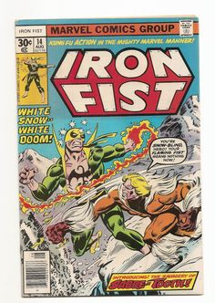 Iron Fist # 14 1st Sabretooth