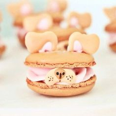 Of all the delicious snacks and desserts in the world, macarons are among the . - Of all the delicious snacks and desserts in the world, macarons are among the desserts for deliciou - Macaroons, Macaron Cookies, Macaron Recipe, Macaroon Cake, Jelly Cookies, Shortbread Cookies, Cake Cookies, Yummy Snacks, Yummy Food
