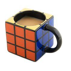 Spinning Hat Rubik's Cube Mug, 2015 Amazon Top Rated Dinnerware & Stemware Storage #Home