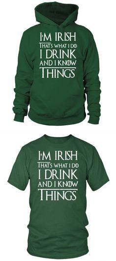 1db4e17c St patrick's day t shirt designs i'm irish thats what i do st patrick's