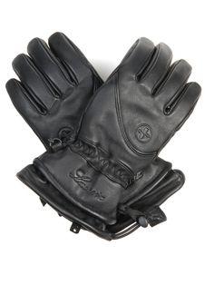 Lacroix Leather ski gloves