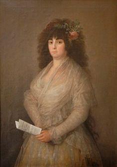 Francisco de Goya | La Tirana (María del Rosario Fernández) 1794