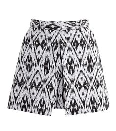 Theory: Andes Cotton Graphic Jacquard Shorts