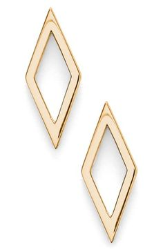Bony Levy Open Diamond Shape Stud Earrings (Nordstrom Exclusive) available at…