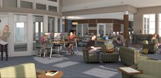 WSCC Sevier Electronic Library Renovation - Community Tectonics Architects #EnhanceYourSpaceContest #PhillipsSilkSpace #LowGlare