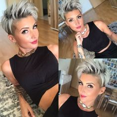14x Short Hairstyles With Shaved Sides! - Lyhyt Kampaus!
