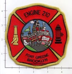 Fdny Nyc New York Ems Emt Paramedic Ambulance Patch Fire