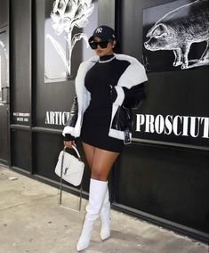 Boujee Outfits, Cute Swag Outfits, Dope Outfits, Cute Casual Outfits, Stylish Outfits, Fashion Outfits, Black Girl Fashion, Look Fashion, Mode Rihanna