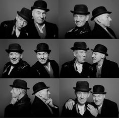Ian McKellen and Patrick Stewart- Actors and activists with a brotherly romance for the ages