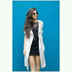 Trendy Outfits, Fashion Outfits, Stylish Girl, Cute Girls, Photo Ideas, Duster Coat, Photoshoot, Blazer, Jackets