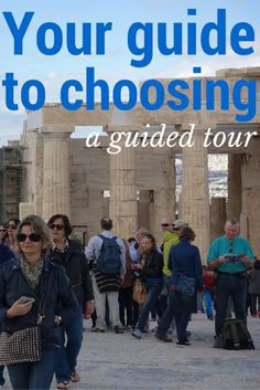 Not all guided tours are the same.  This post tells you what to look for and what questions to ask before you book a guided tour.