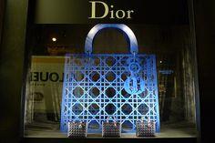 Vitrines Dior au Bon Marché - Paris, octobre 2010