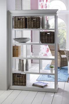 Room Divider with Basket Set