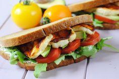 Harissa Halloumi Sandwich