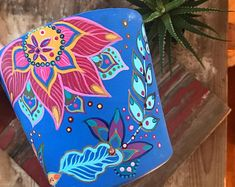 Colorful Eclectic Hand Painted Furniture & Home by BoHoExpressions