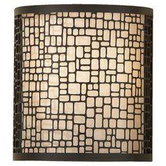 Joplin Light Antique Bronze 1-light Wall Sconce