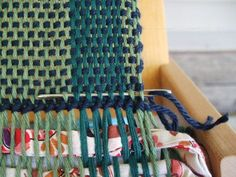 weaving in hem stitching ends option two
