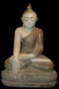 Alabaster Burmese Shan Buddha Statue 198th - 19th Century Buddha Art, Ideas Nature , HomeMore Pins Like This At FOSTERGINGER @ Pinterest