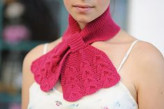 Ravelry: Belle Ascot pattern by Carrie Bostick Hoge