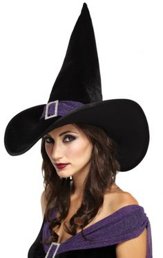 Velvet Witch Hat