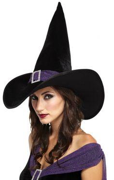 Witch Hat - Hats. Halloween HatsHalloween WitchesPurple HalloweenAdult ... 59da99f8a6d